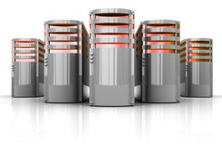 Servers Royalty Free Stock Image