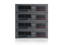 Servers. Web hosting , peering services Royalty Free Stock Images