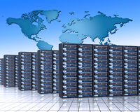 Servers Stockbilder