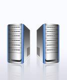 Servers. Modern servers ,storage hardware concept Stock Image