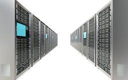 Servers. Stock Image