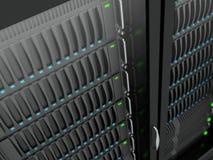 Servers stock illustratie
