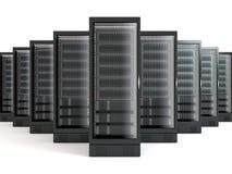 Servers vector illustratie