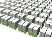 Servers Stock Image