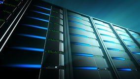 Servers Background 2 (Loop) Royalty Free Stock Photography