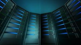 Servers Background 3 (Loop) Stock Photo