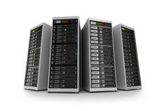 Servers, isolated Stock Photos