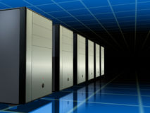 Servers network Royalty Free Stock Photo