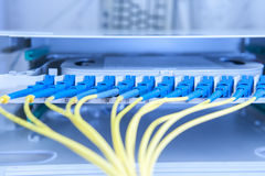 Servers in a technology data center Stock Images