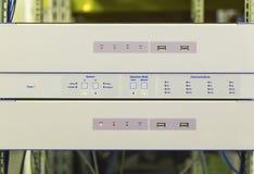 Servers voor toeziend, controle en van de gegevensaanwinst systeem Stock Afbeelding