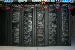 Serverzahnstange Stockbild