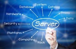 serveur Image libre de droits