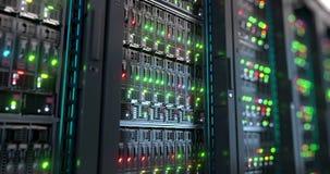 serveur Rendu de calcul du stockage de données 3d de nuage banque de vidéos