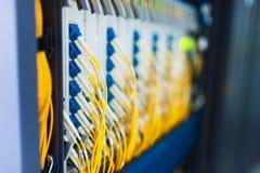 Serveurs de réseau Photographie stock