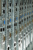 Serveurs prêts à être installé dans un datacenter Image libre de droits