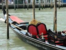 Serviço da gôndola de Veneza Fotos de Stock Royalty Free