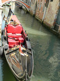 Serviço da gôndola de Veneza Imagens de Stock