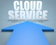 Serviço da nuvem Imagens de Stock Royalty Free