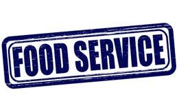 Serviço de alimentação ilustração royalty free