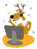 serviço de atenção a o cliente por feriados   Ilustração Stock