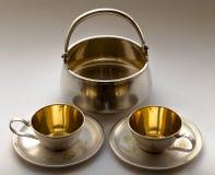 Serviço de café Fotos de Stock Royalty Free