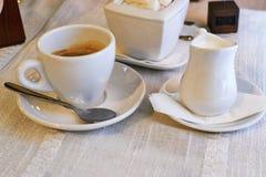 Serviço de café Imagens de Stock