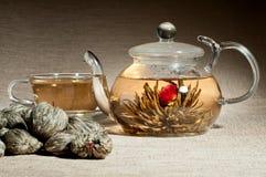 Serviço de chá fotos de stock