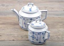 Serviço de chá Fotografia de Stock Royalty Free