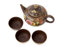Serviço de chá Fotos de Stock Royalty Free