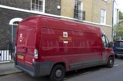 Serviço de correio Londres da estação de correios Imagens de Stock Royalty Free