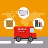 Serviço de entrega Imagem de Stock Royalty Free