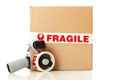 Serviço de entrega frágil Foto de Stock