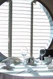 Serviço de jantar 3 fotografia de stock royalty free