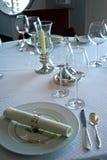 Serviço de jantar 3 fotografia de stock