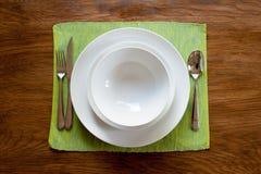 Serviço de jantar fotos de stock