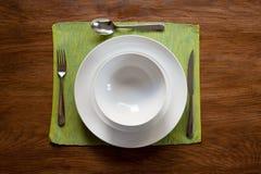Serviço de jantar Fotografia de Stock
