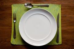 Serviço de jantar foto de stock