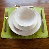 Serviço de jantar Imagem de Stock