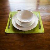 Serviço de jantar Imagens de Stock