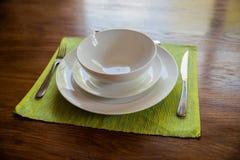 Serviço de jantar Imagem de Stock Royalty Free