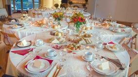 Serviço de lanche Luxo inglês tradicional fotos de stock royalty free