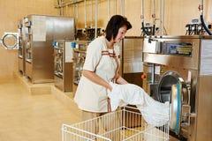 Serviço de lavanderia foto de stock