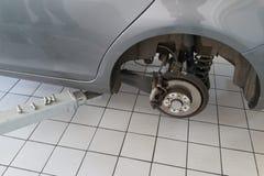 Serviço de reparação de automóveis Fotografia de Stock Royalty Free