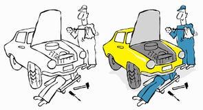 Serviço de reparações ilustração do vetor