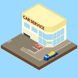 Serviço do carro ilustração do vetor