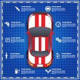 Serviço do carro, reparo, diagnóstico Imagens de Stock Royalty Free