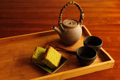 Serviço do chá Imagens de Stock Royalty Free