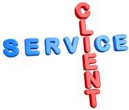 Serviço do cliente Imagens de Stock