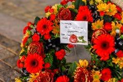 Serviço do dia da relembrança, perseguição de Cannock imagens de stock royalty free
