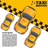 Serviço do táxi Fotos de Stock Royalty Free
